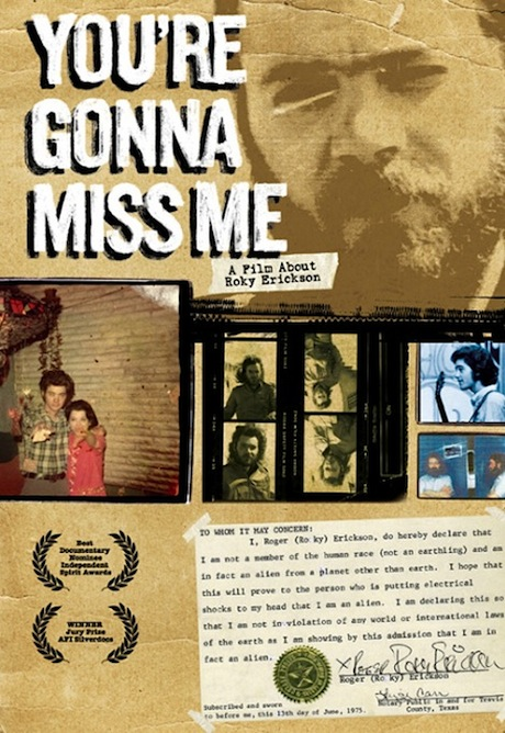 You're Gonna Miss Me film DVD image
