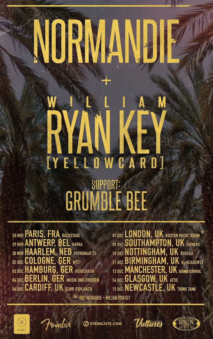 Normandie & Ryan Key tour poster image
