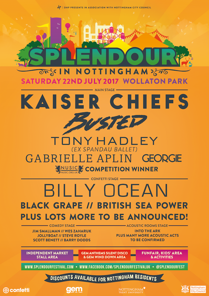 Splendore Festival 2017 - second announcement image