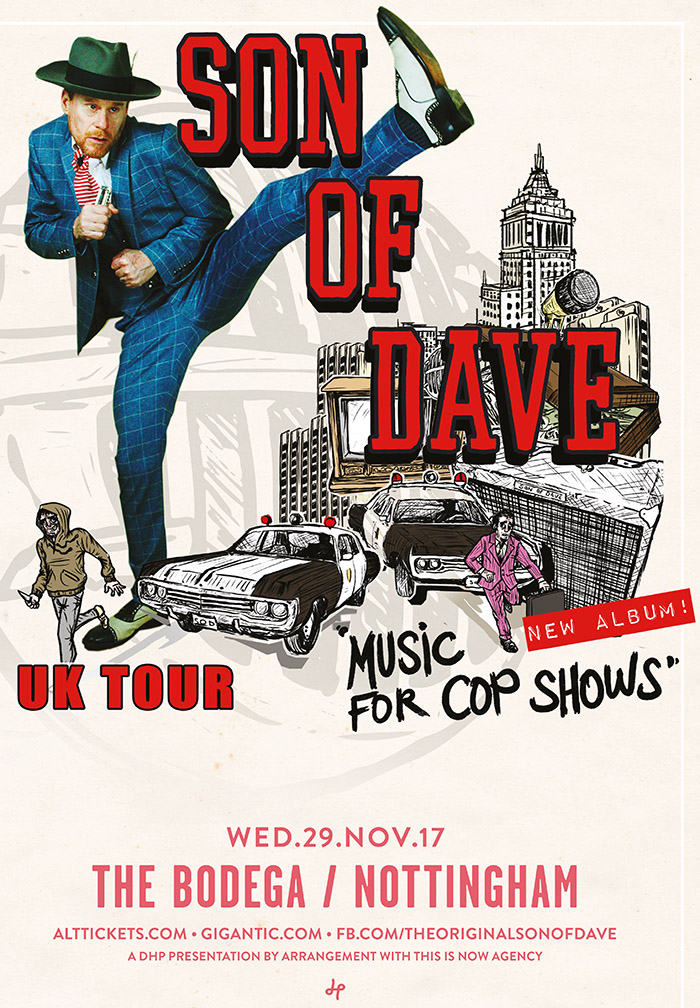 SON OF DAVE gig poster image