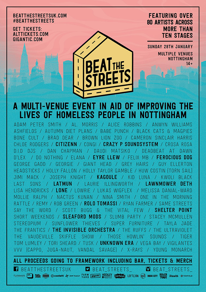 BEAT THE STREETS 2nd poster image