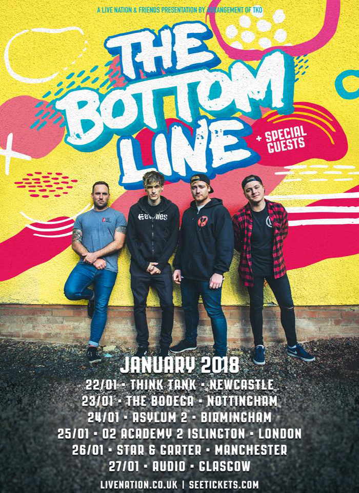 THE BOTTOM LINE tour poster image