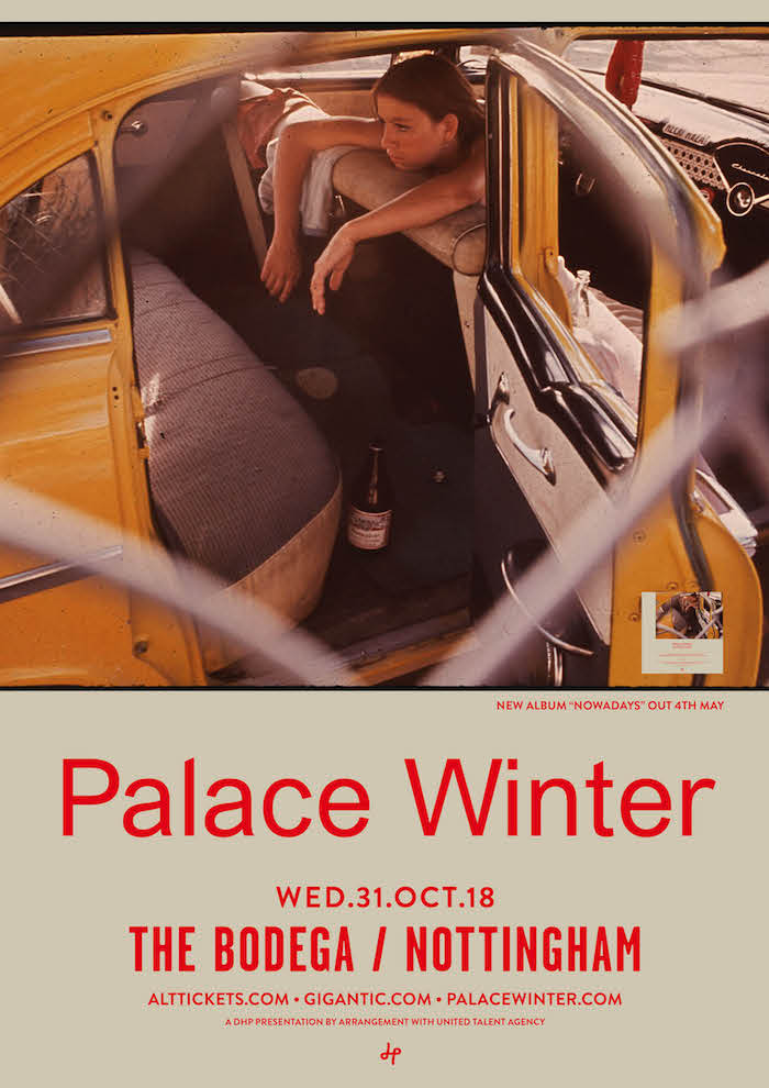 PALACE WINTER live at The Bodega poster image