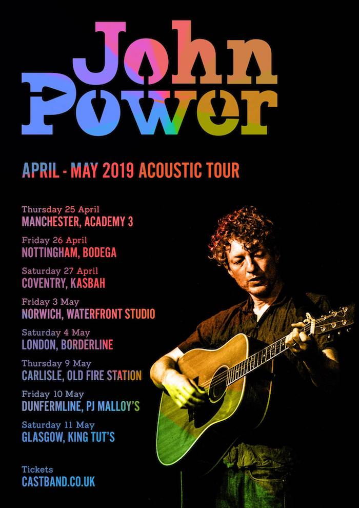 John Power tour poster image