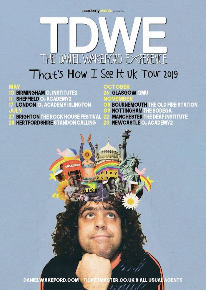 DANIEL WAKEFORD EXPERIENCE tour poster image