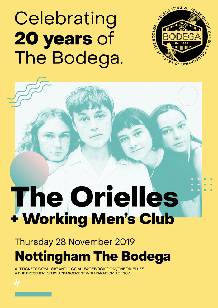 THE ORIELLES / WORKING MEN'S CLUB poster image