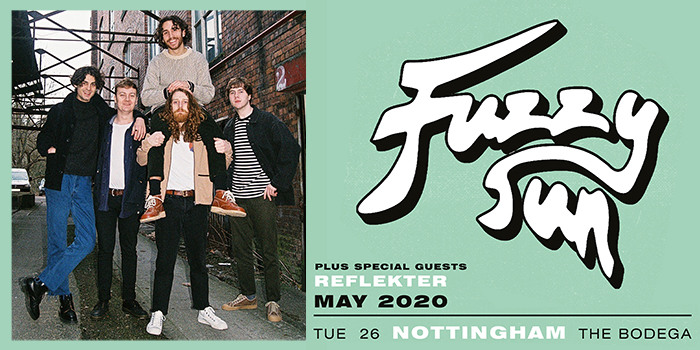 FUZZY SUN live at The Bodega, please double click for more information