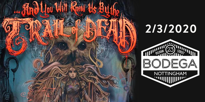 TRAIL OF DEAD live at The Bodega, please double click for more information