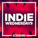 INDIE WEDNESDAYS calendar image & link to more information